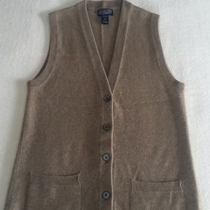Cashmere Lands End Luxury Vest